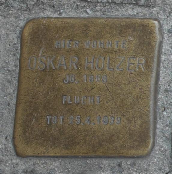 Freising Stolpersteine 366-002 Oskar Holzer.jpg