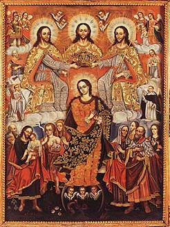File: Gaspar Miguel de Berrío - Coronation of the Virgin.jpg