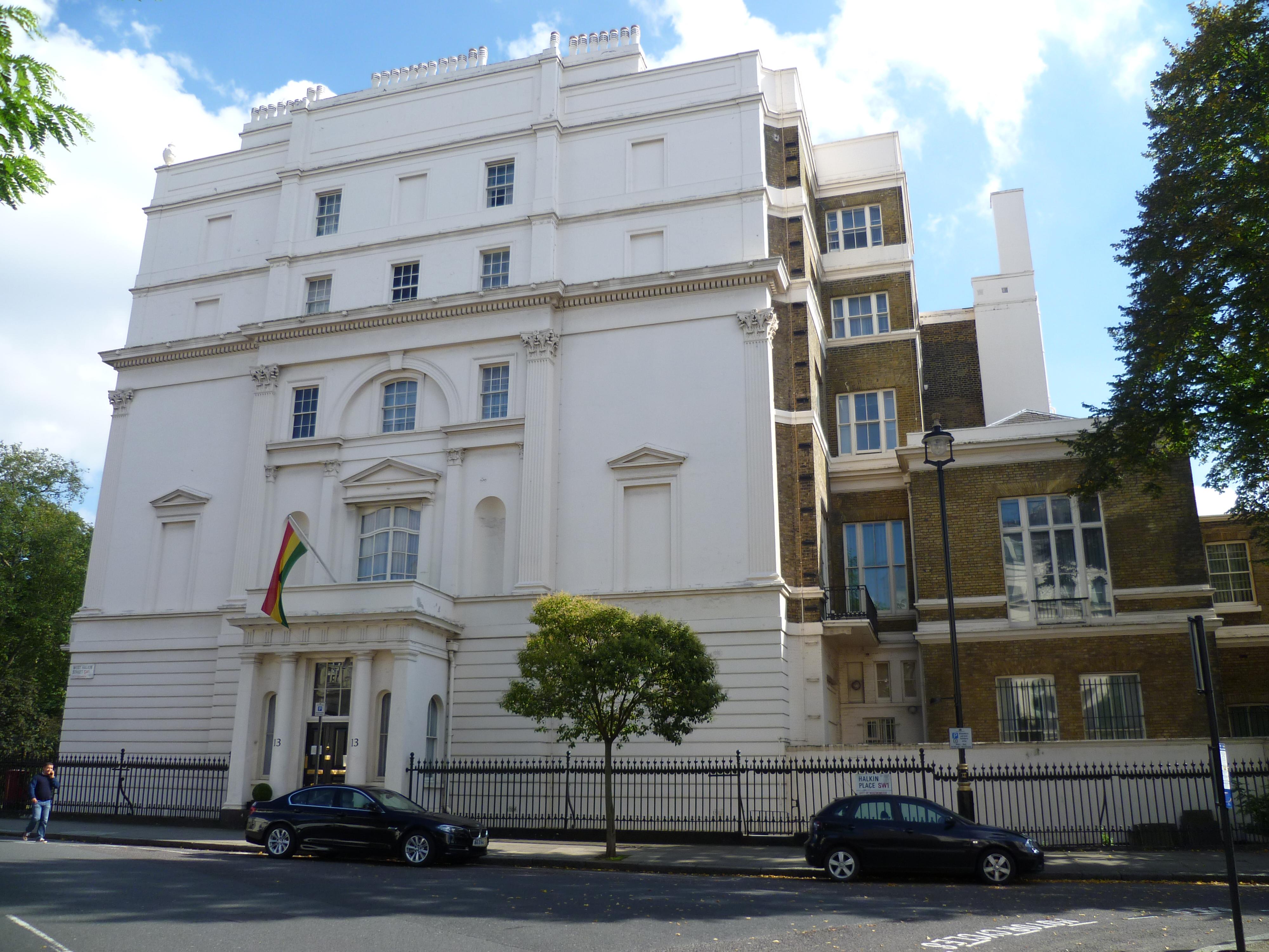 Google Hoofdkwartier Londen : Bestand:ghana high commission london .jpg wikipedia