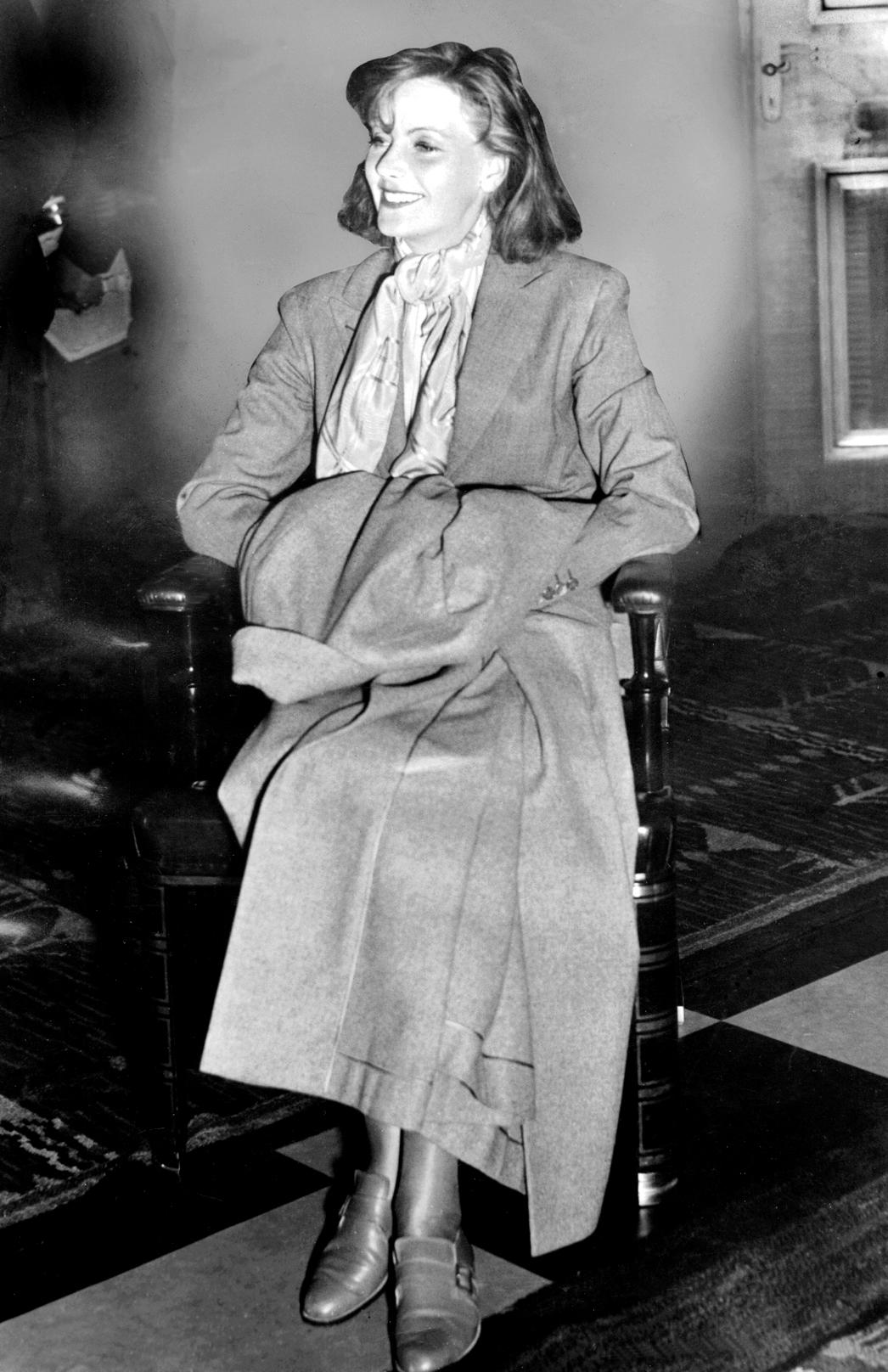 Descripción greta garbo 1935