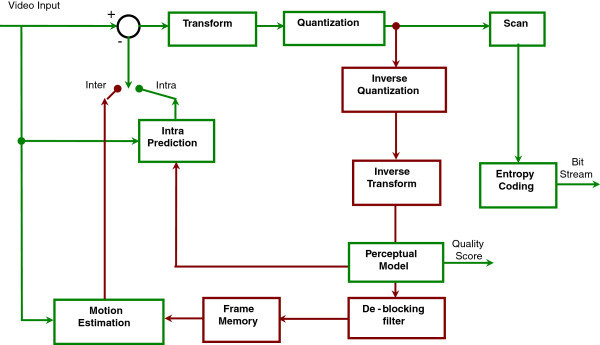 H 264 Block Diagram - Wiring Diagram Page