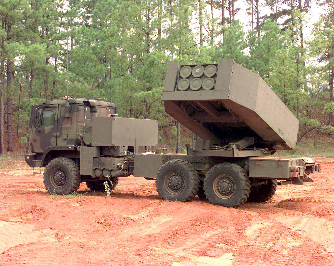 Американский ракетный комплекс ATACAMS