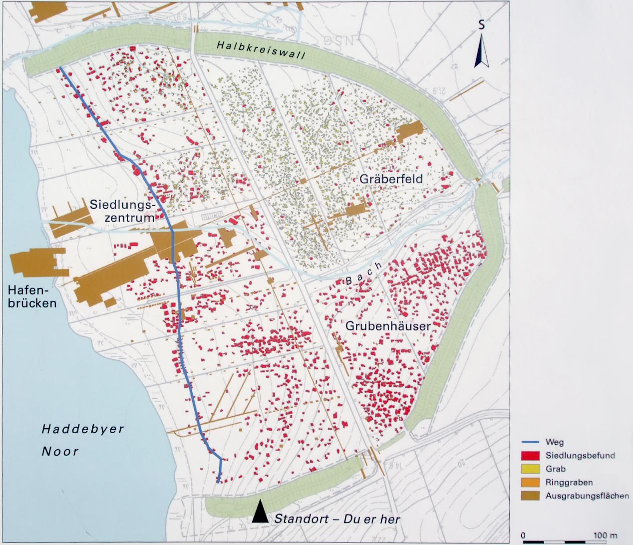 Kattegat Wikinger Siedlung