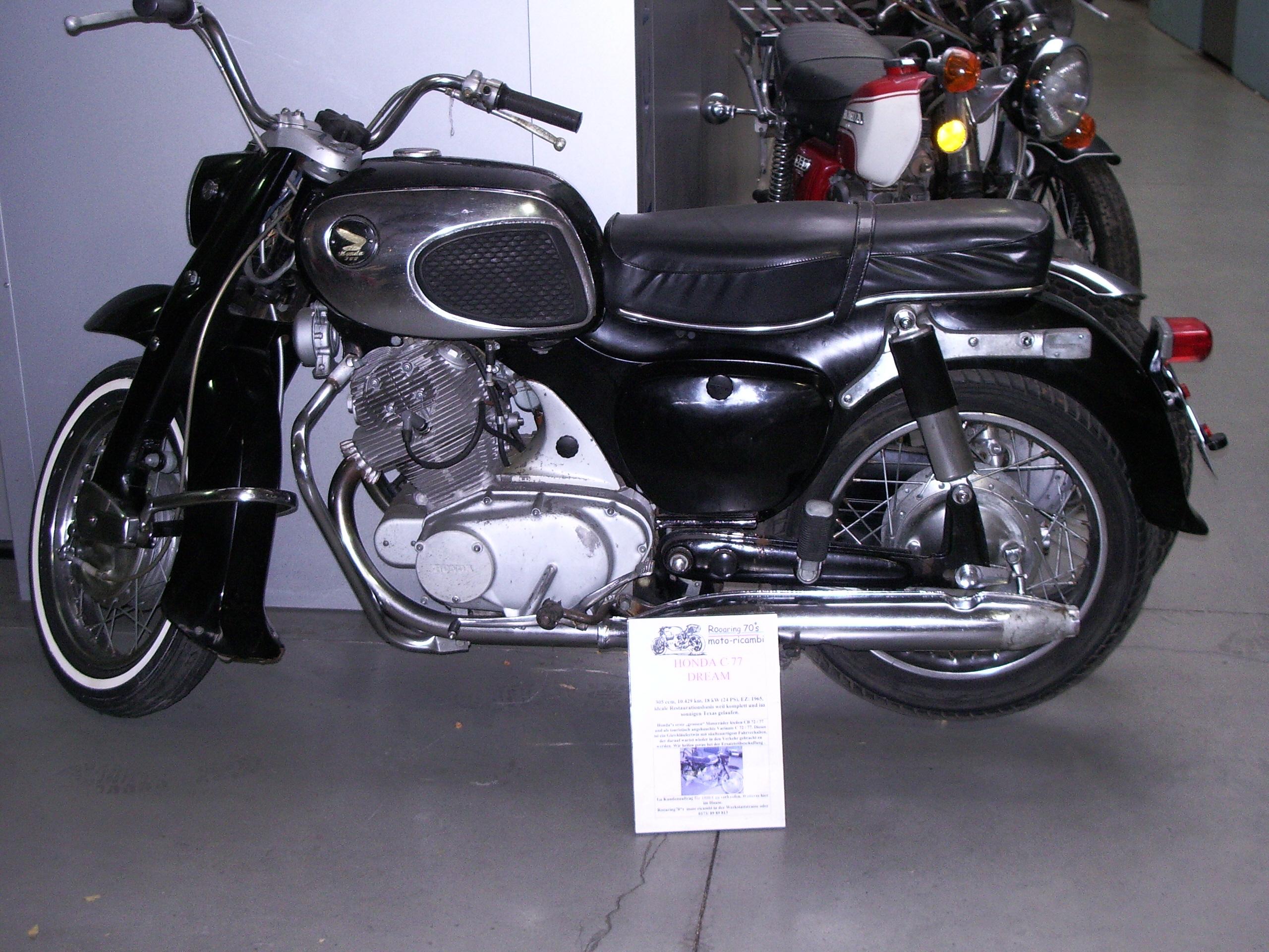 Honda Dream 150 1963