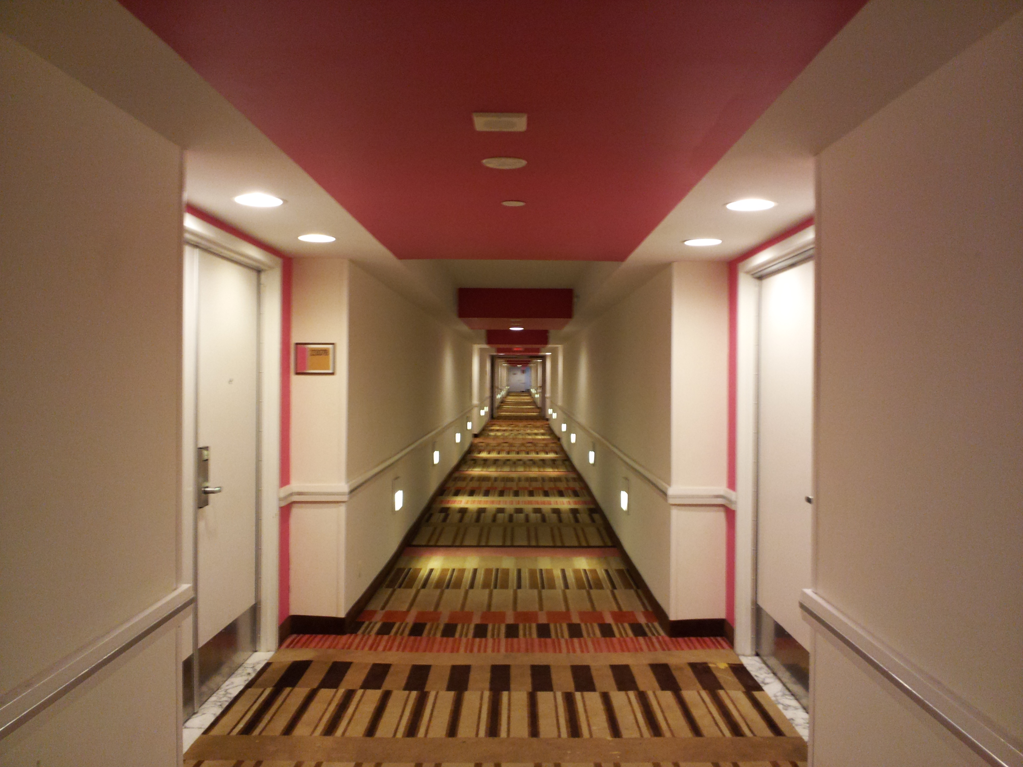 Cool hotel hallways images galleries for Hallway photos