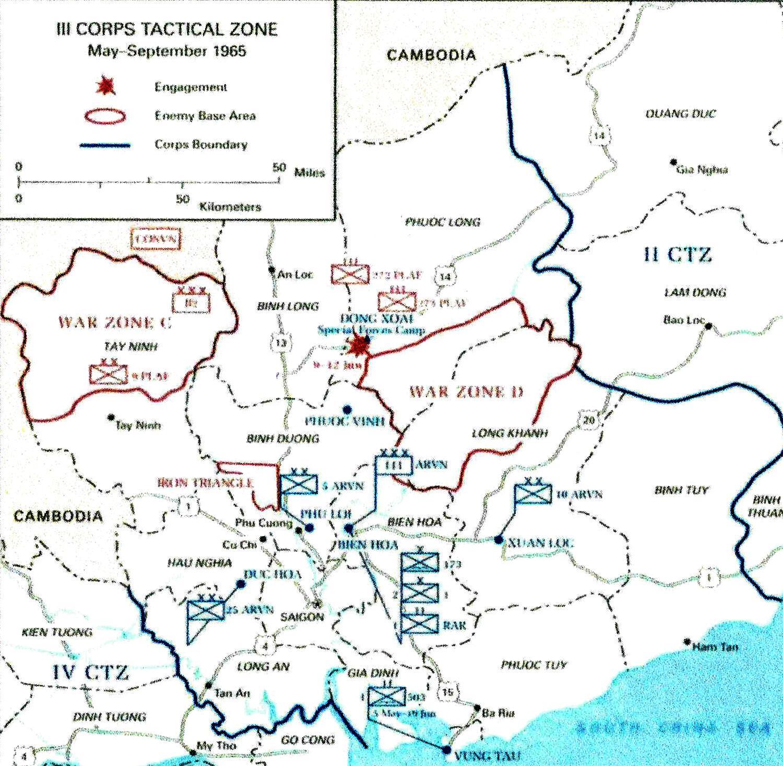 Ii Corps Vietnam Map Related Keywords Suggestions Ii Corps