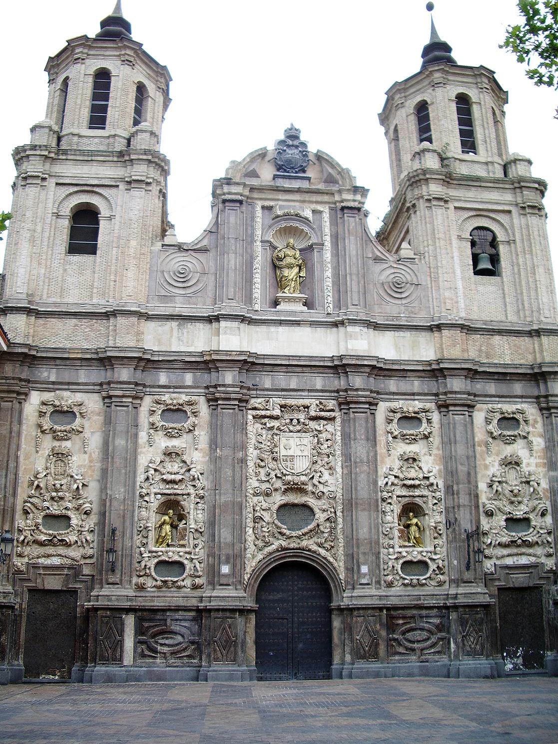 Matrimonio Catolico Zaragoza : Iglesia de santa isabel portugal zaragoza wikipedia