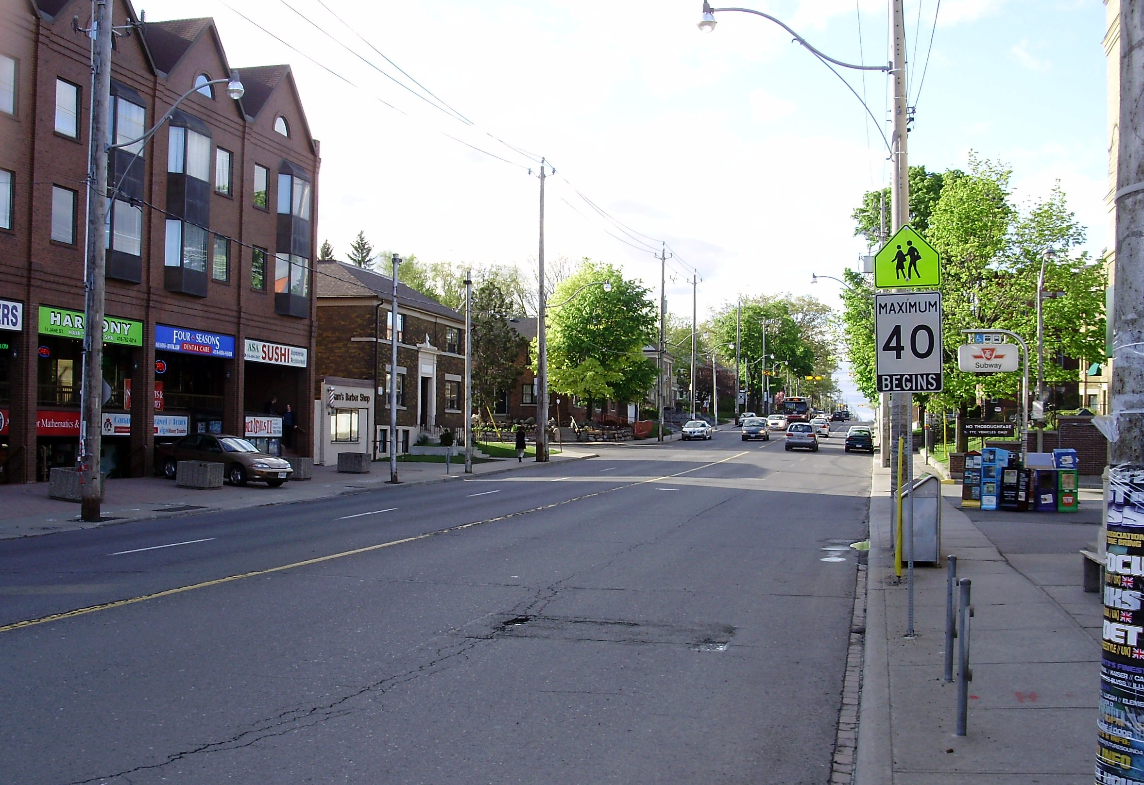 File:Jane Street from Bloor.jpg - Wikipedia, the free encyclopedia Street