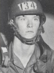 Jeffrey Mellinger in 1972; Mellinger was the last drafted U.S. NCO to remain in the army before retiring in 2011.