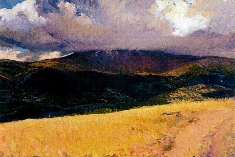 Landscape of Italia - Joaquin Sorolla y Bastida - www.joaquin ...