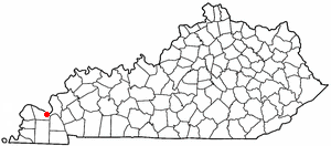 Reidland, Kentucky CDP in Kentucky, United States