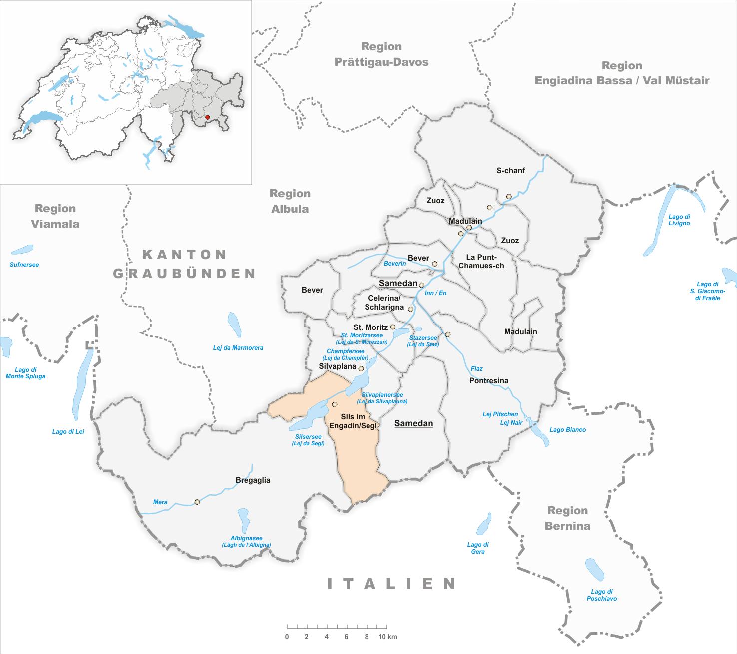 engadin karte Datei:Karte Gemeinde Sils im Engadin Segl 2018.png – Wikipedia