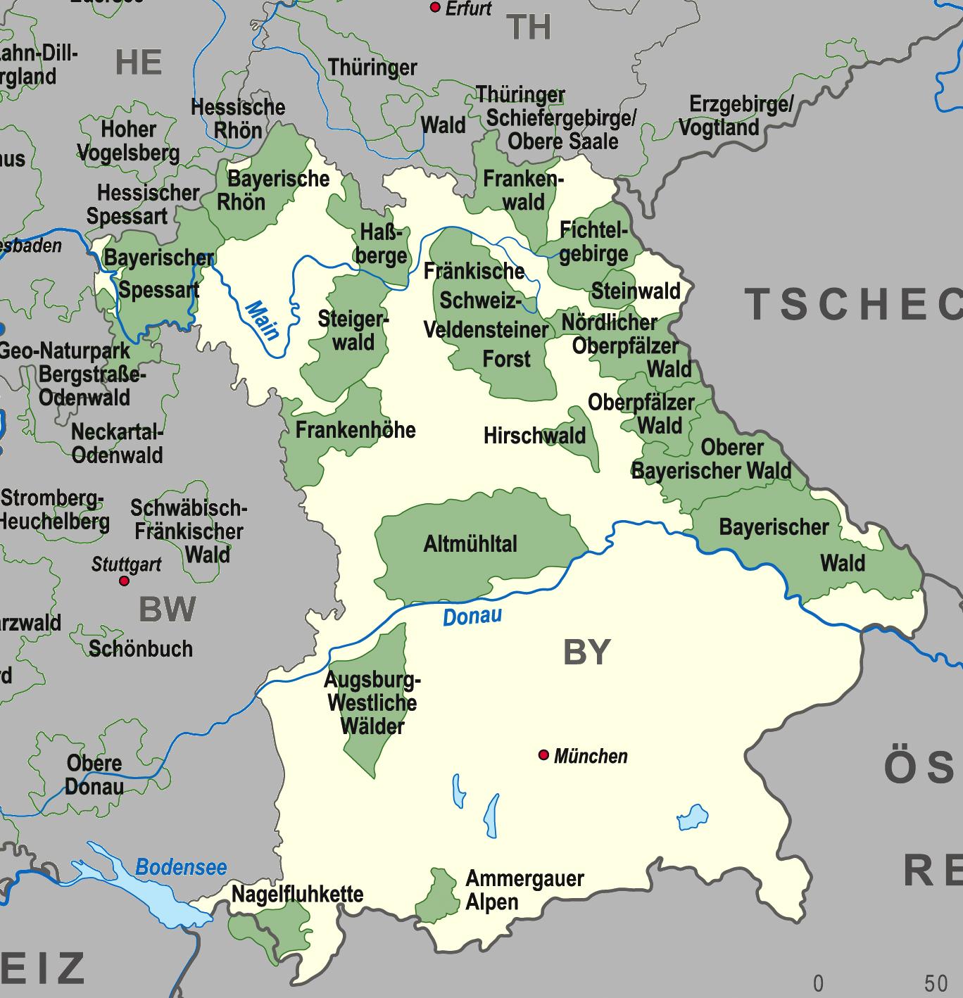 Bayernkarten
