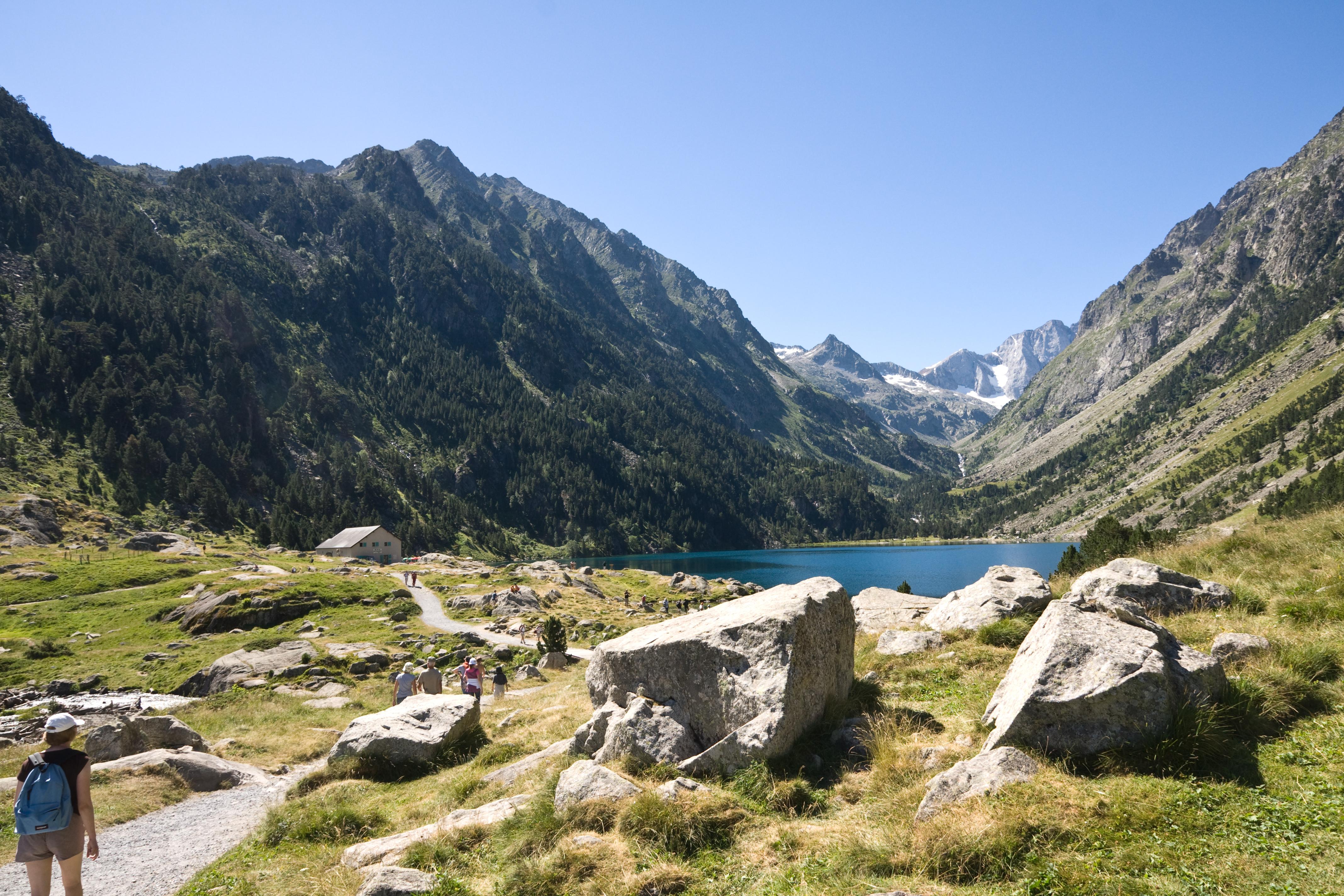 File lac de gaube wikimedia commons - Lac de gaube ...