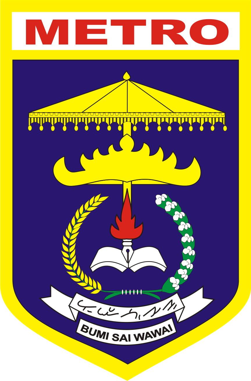 File Lambang Kota Metro Jpeg Wikimedia Commons