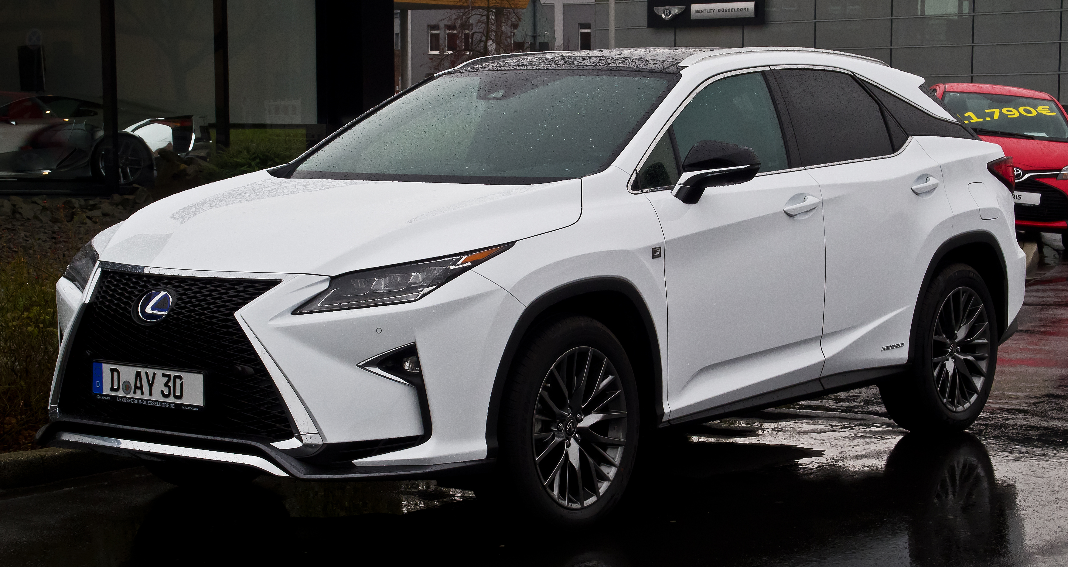 2018 Lexus RX 450h: News, Changes, Price >> Lexus Rx Wikipedia
