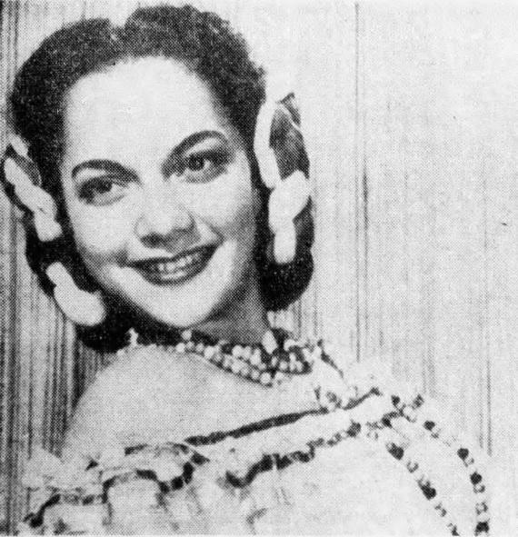 Lillian Molieri on 1940s Dance