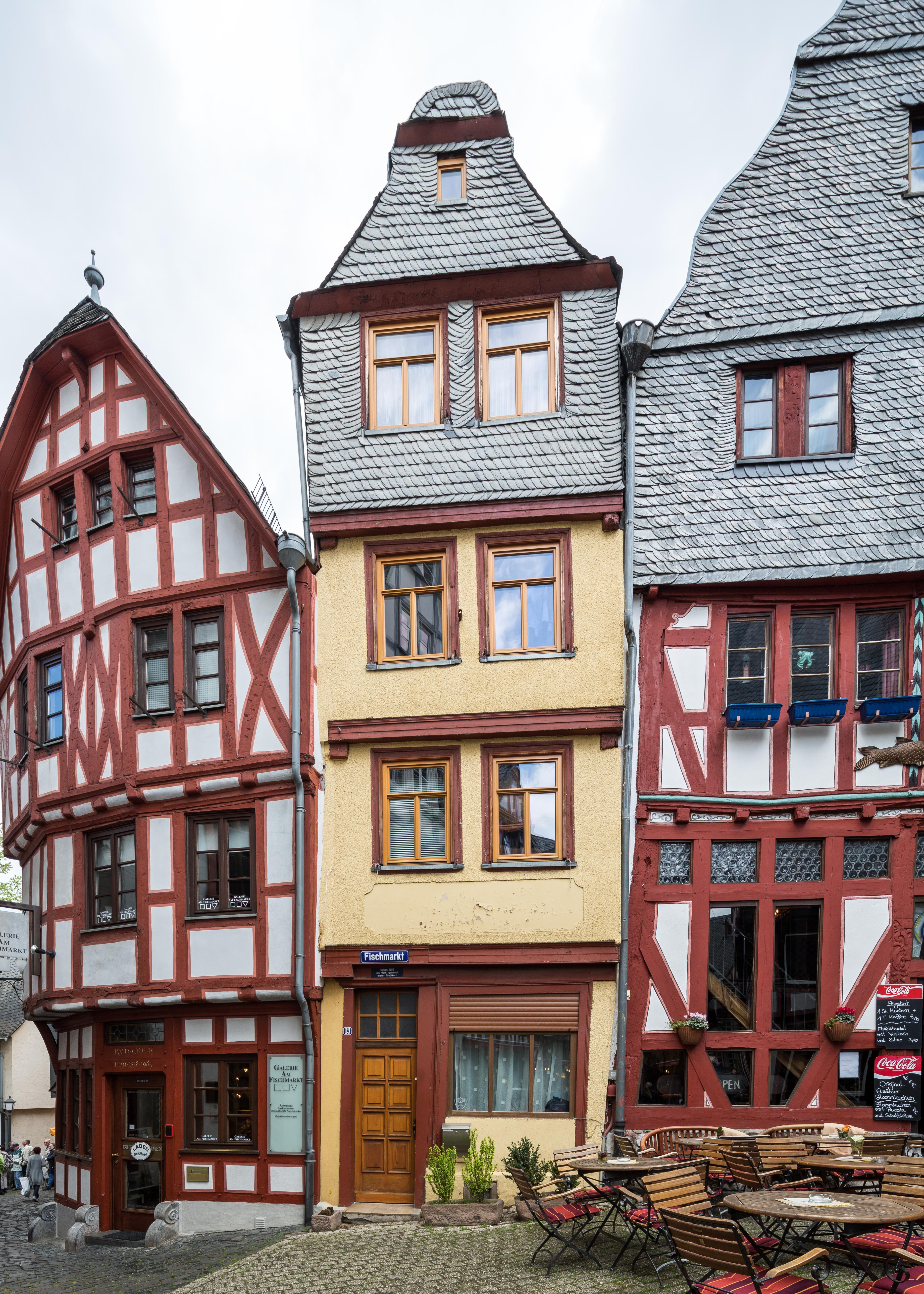 File Limburg An Der Lahn Fischmarkt 13 Von Suedwesten 20140409 Jpg