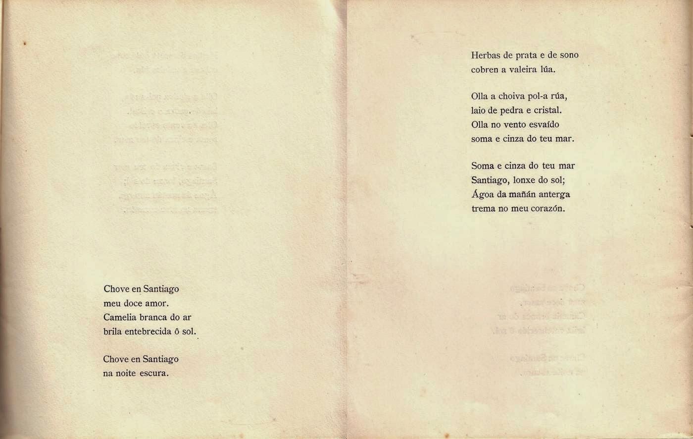 Archivomadrigal á Cibdá De Santiago Seis Poemas Galegos