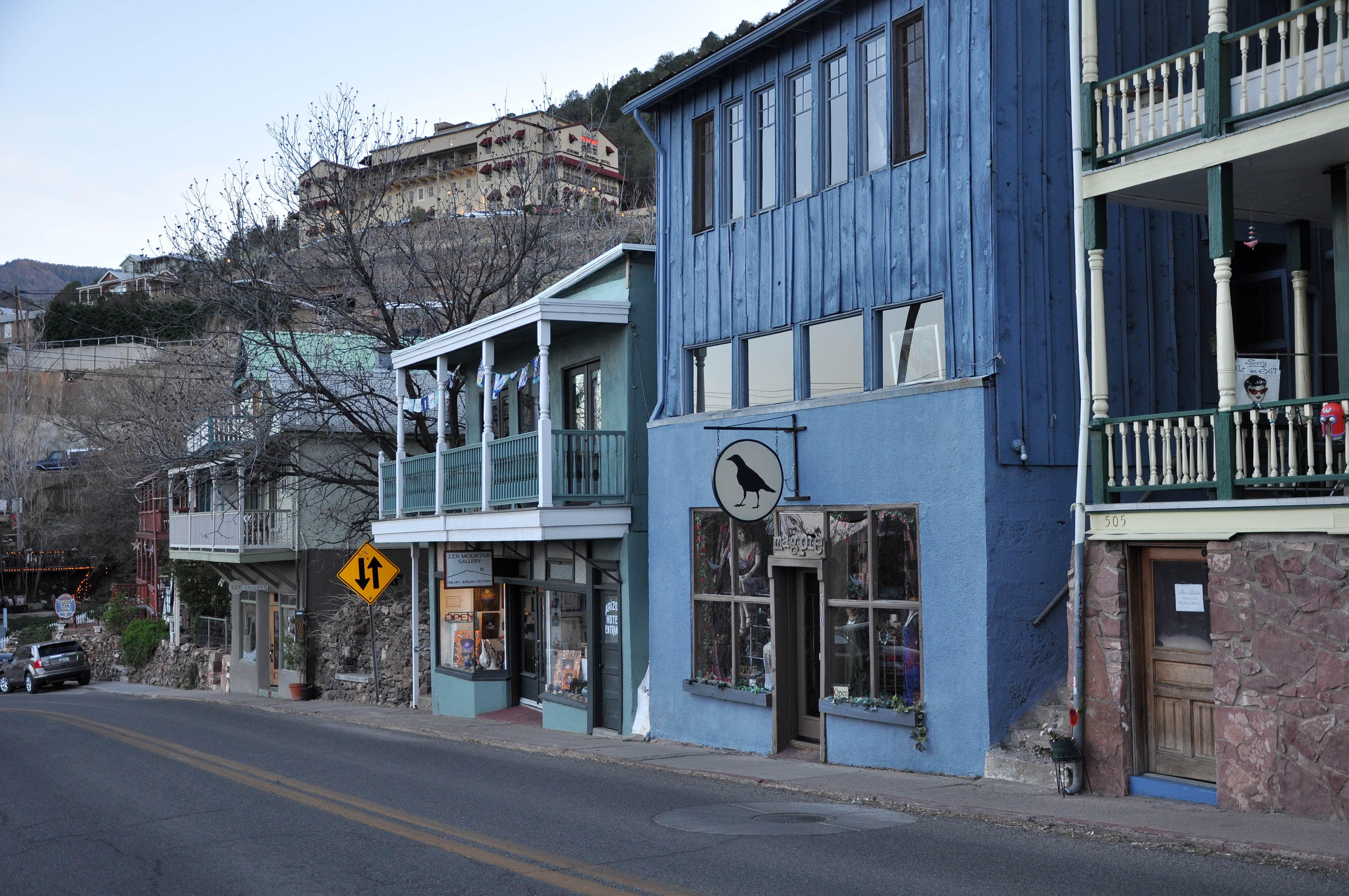 Main Street Jerome, AZ