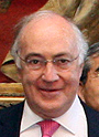 Michael Howard cropped William Hague and Members of the UK-Japan 21st Century Group 20130502.jpg