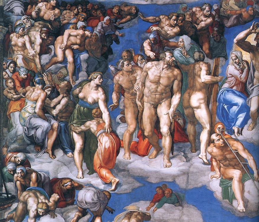 Michelangelo, Giudizio Universale 12.jpg