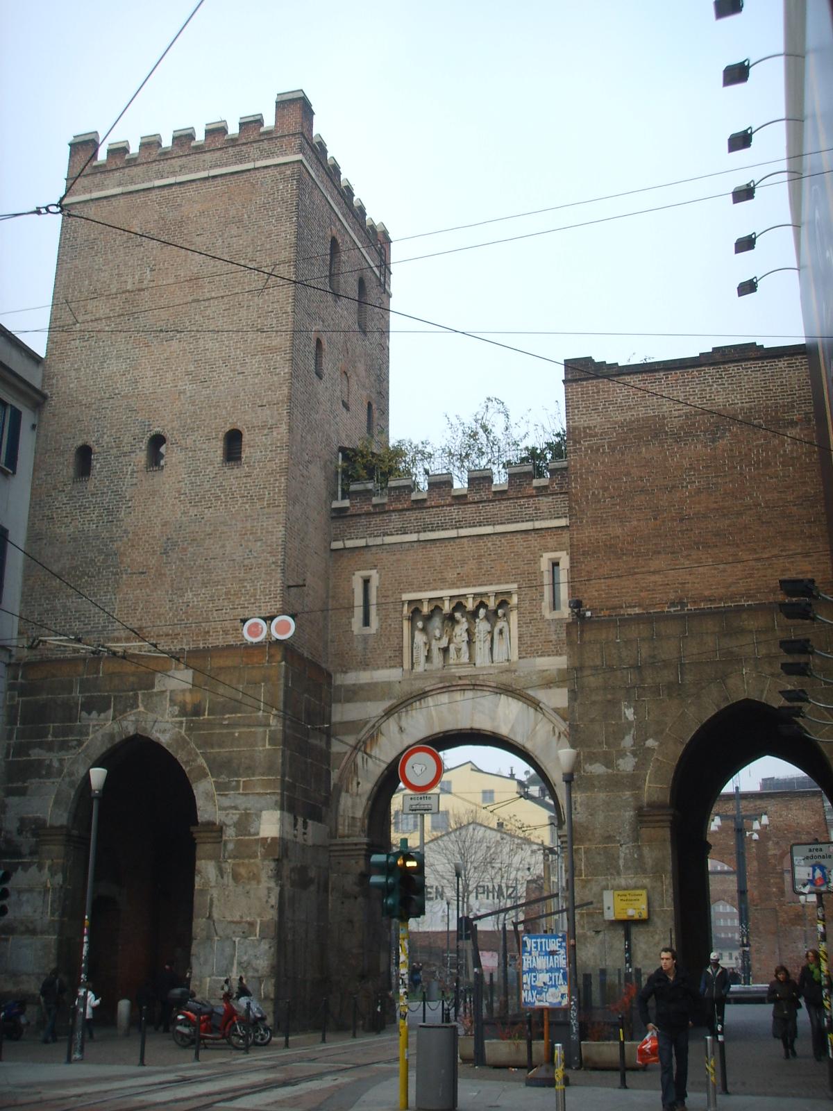 File milano porta ticinese wikimedia commons - Architetto porta ...