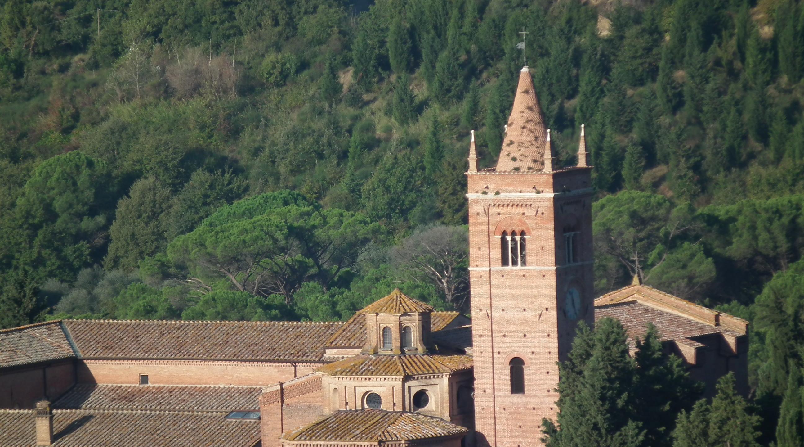 De abdij van Monte Oliveto Maggiore