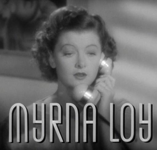 Myrna Loy as Nora Charles