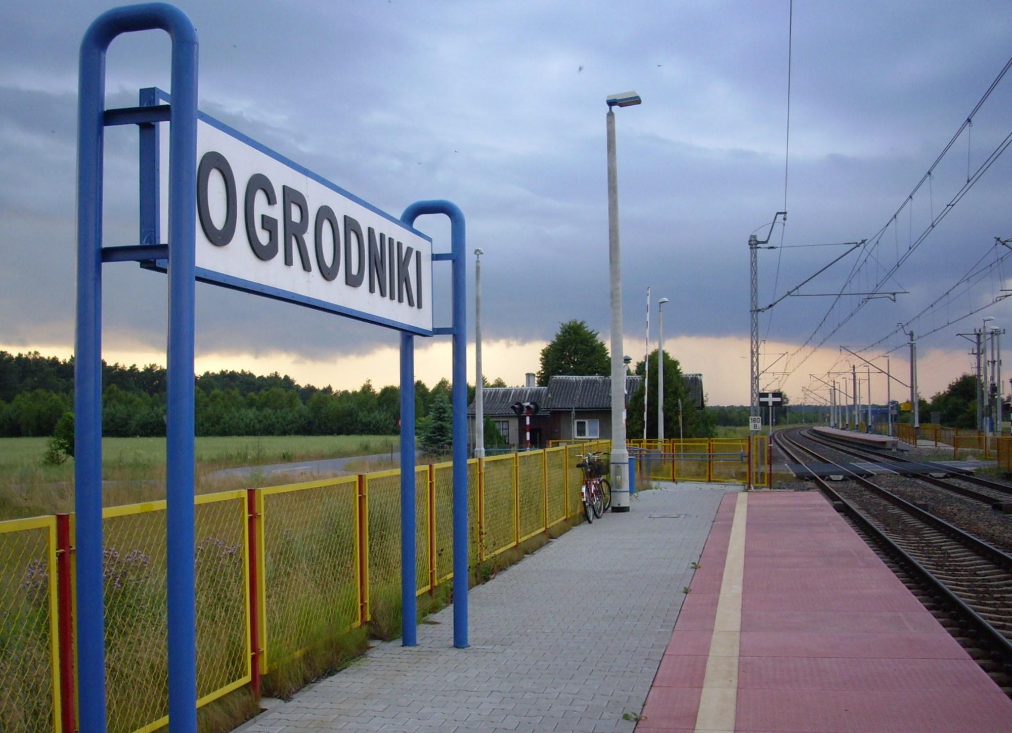 Ogrodnikų geležinkelio stotelė