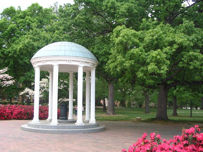 Old Well and McCorkle Place 2005