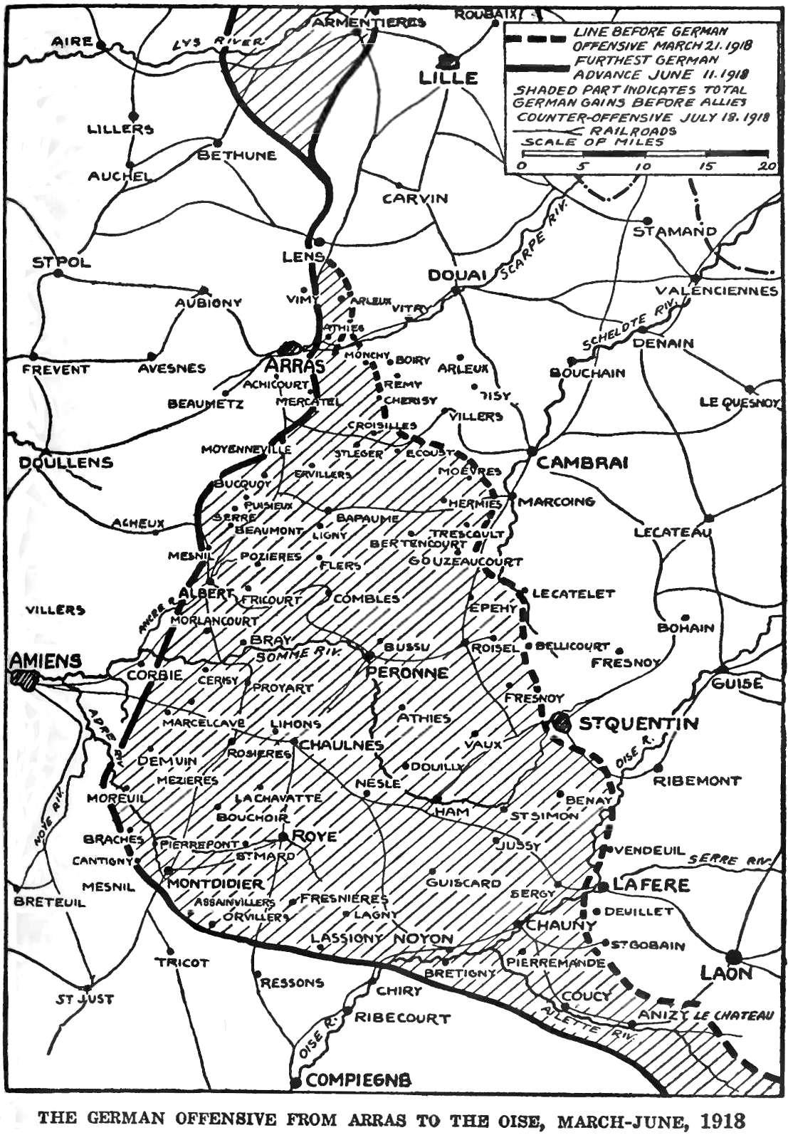 A Operação Michael (21 de Março de 1918 - 4 dias antes de La Lys)