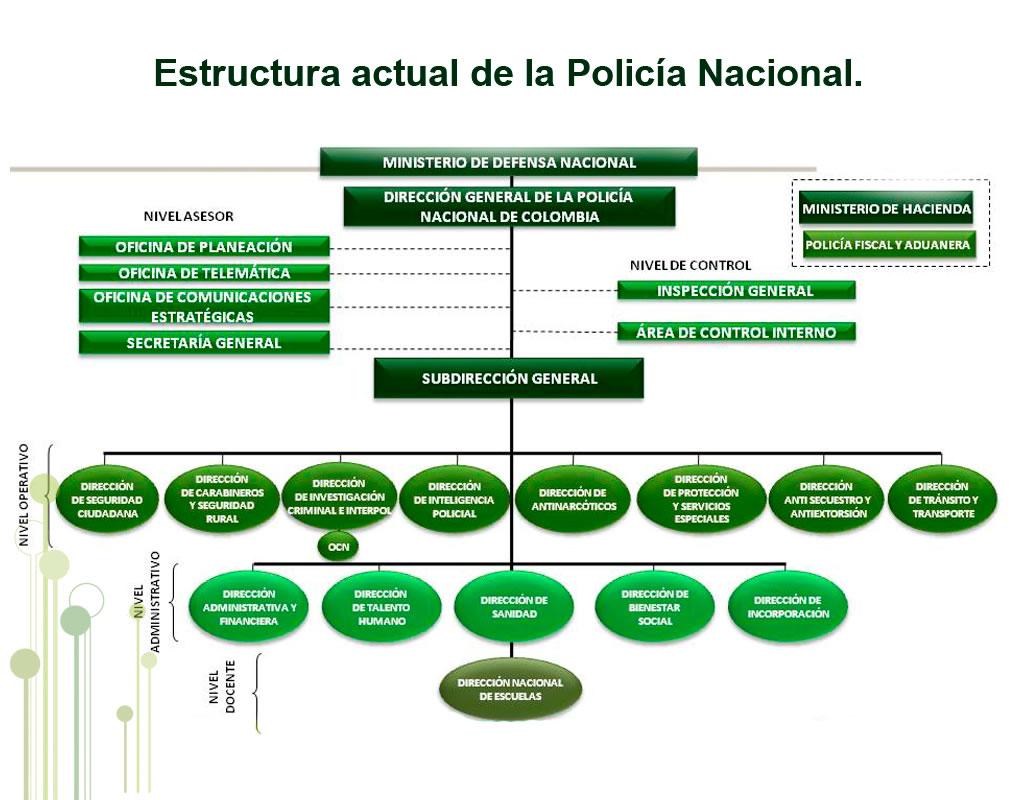 Estructura de la polic a nacional policia nacional for Oficina policia nacional
