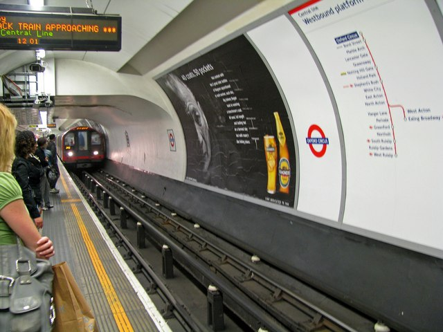 Oxford Circus station - geograph.org.uk - 830534
