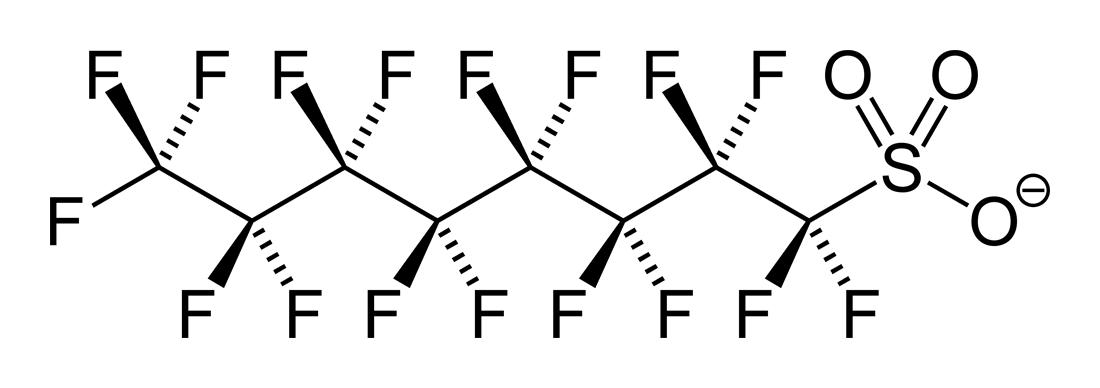 PFOSの構造式