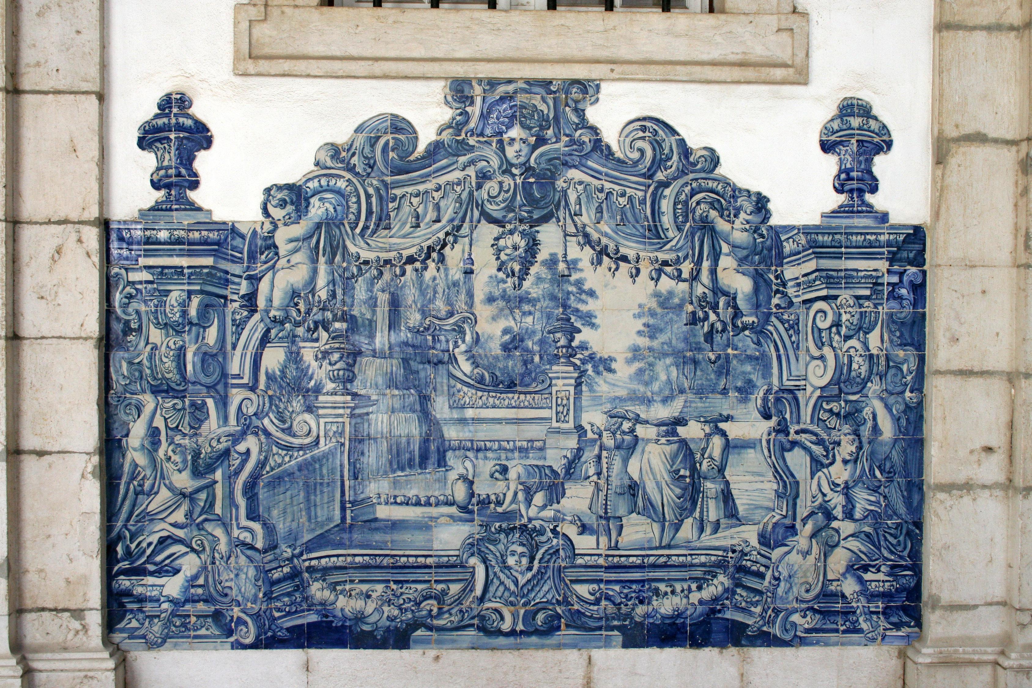 Resultado de imagem para convento sao vicente fora azulejos