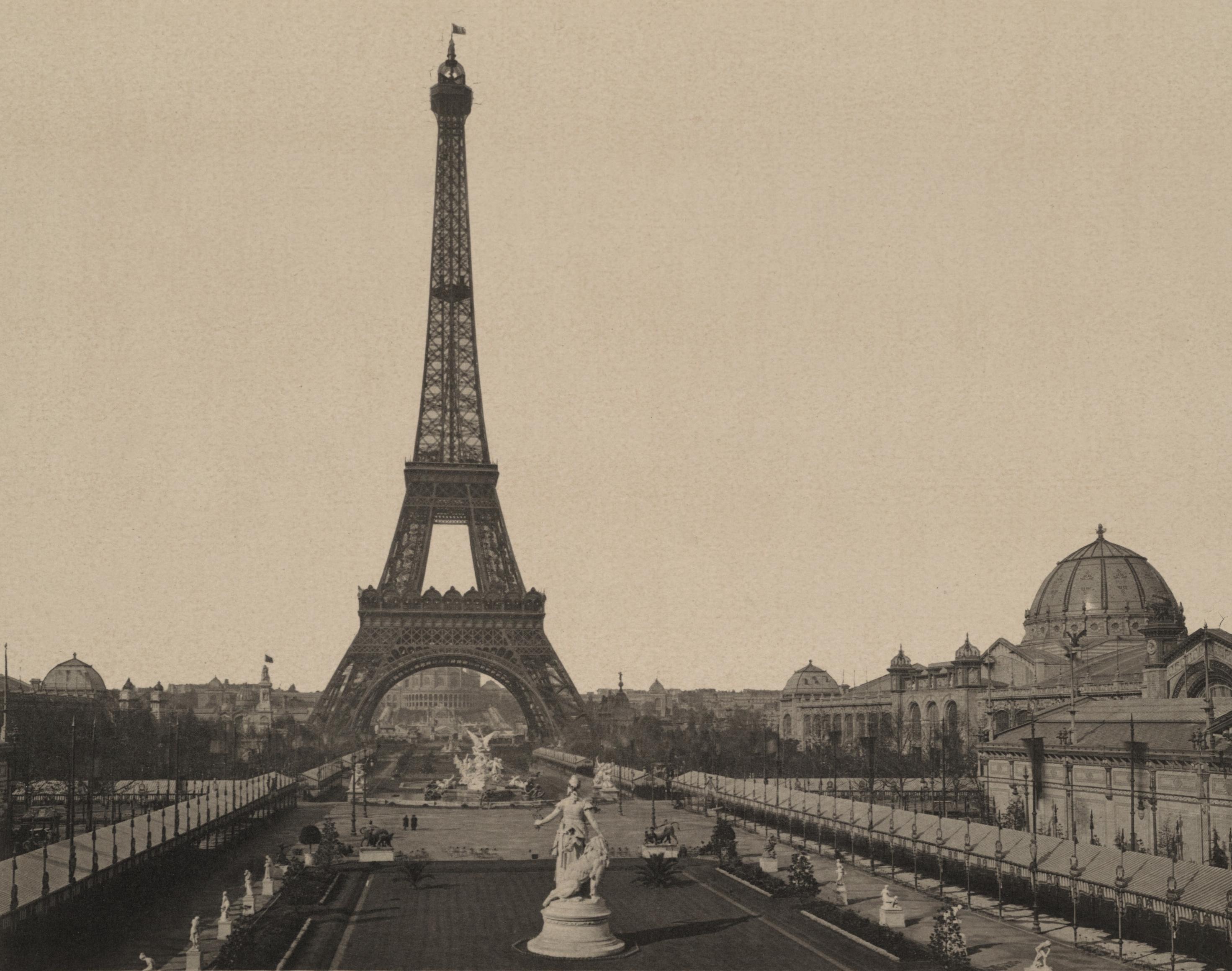File panorama n 1 le parc du champ de mars la tour eiffel et le trocad ro - Les dimensions de la tour eiffel ...
