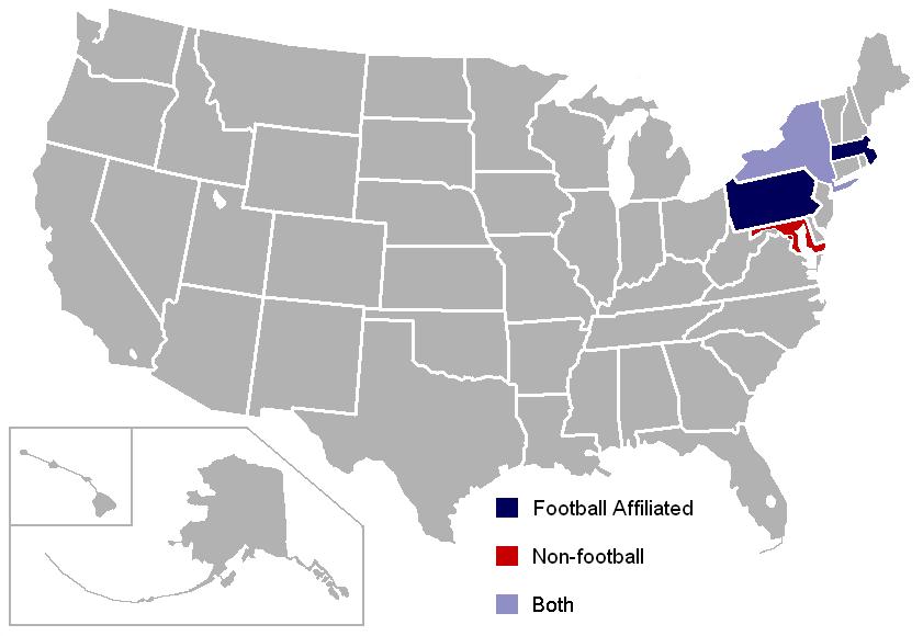 Ivy League College Tour Map
