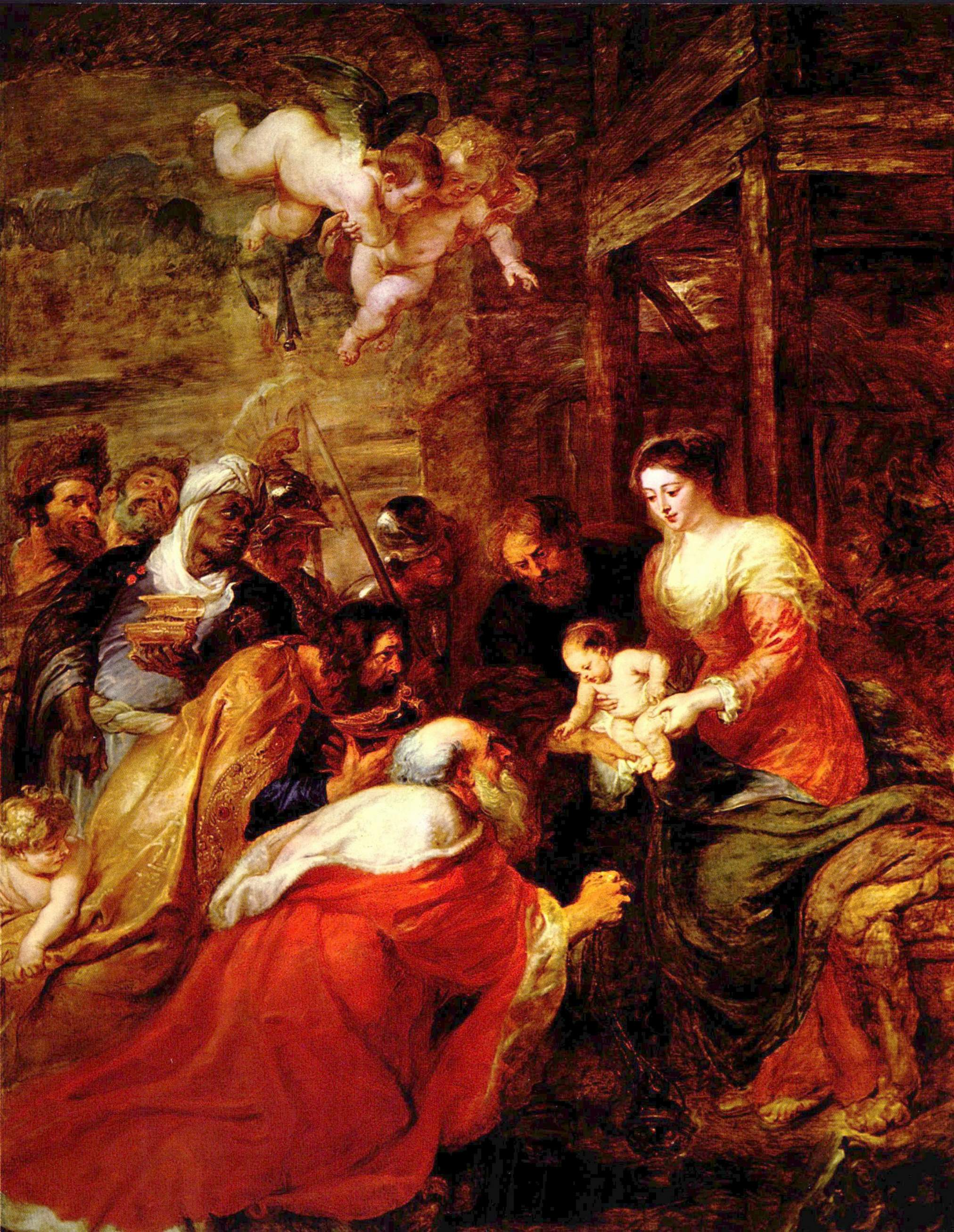 Adoration Of The Magi Rubens Cambridge Wikipedia