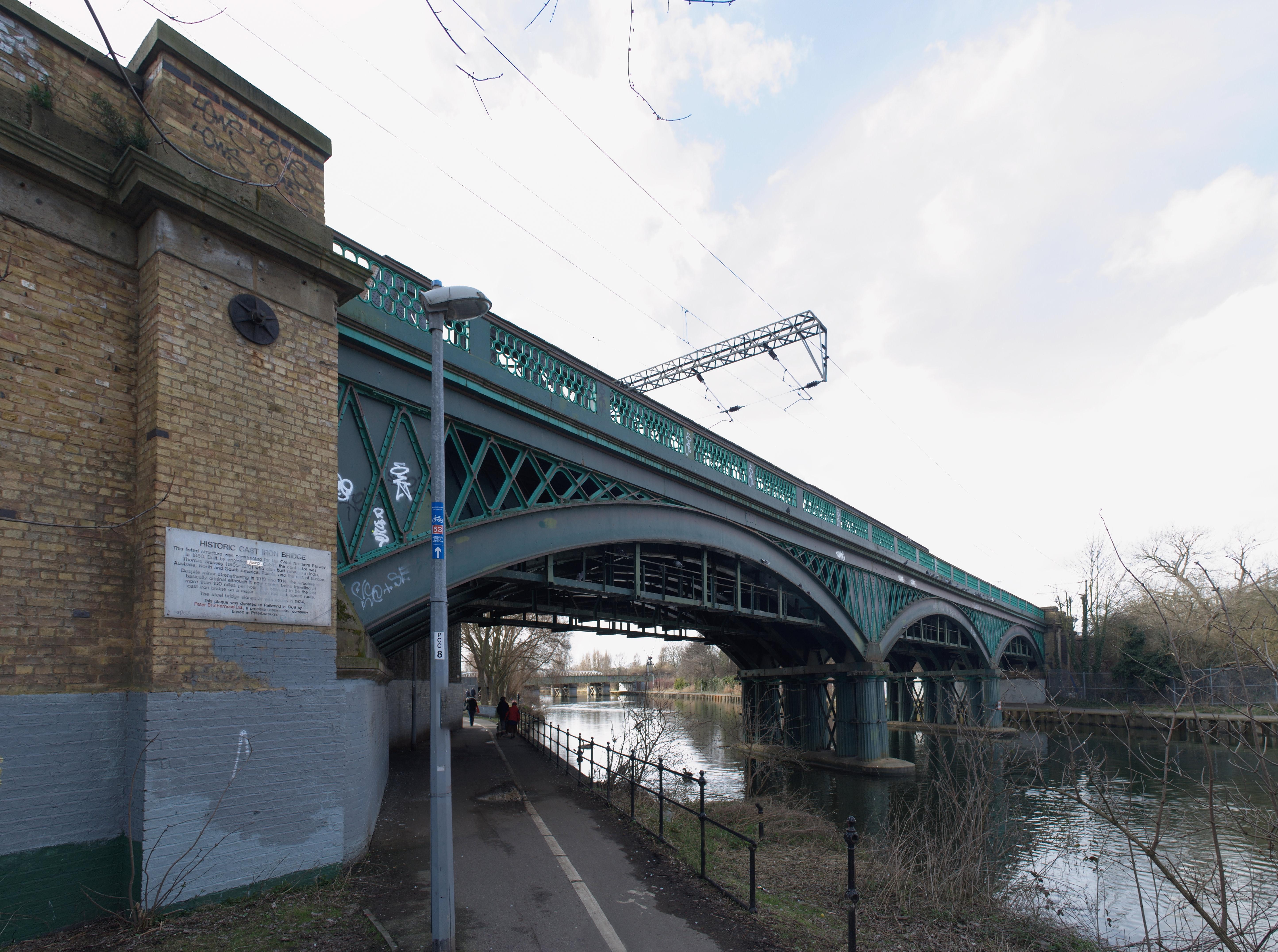Description peterborough 1850 iron bridge