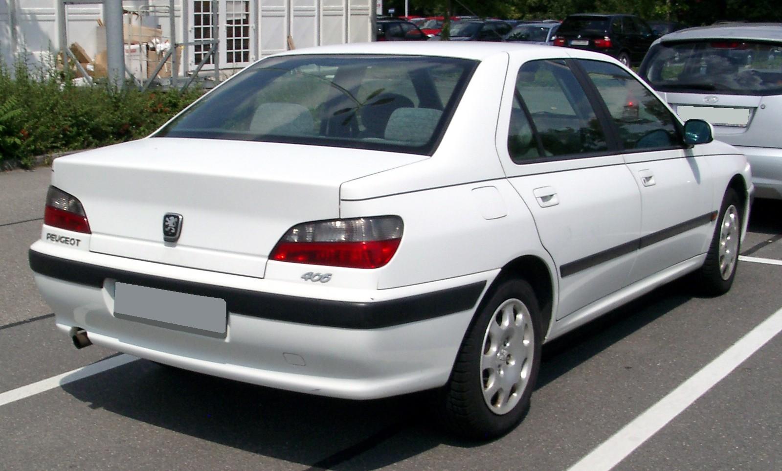 File:Peugeot 406 rear 20080730.jpg