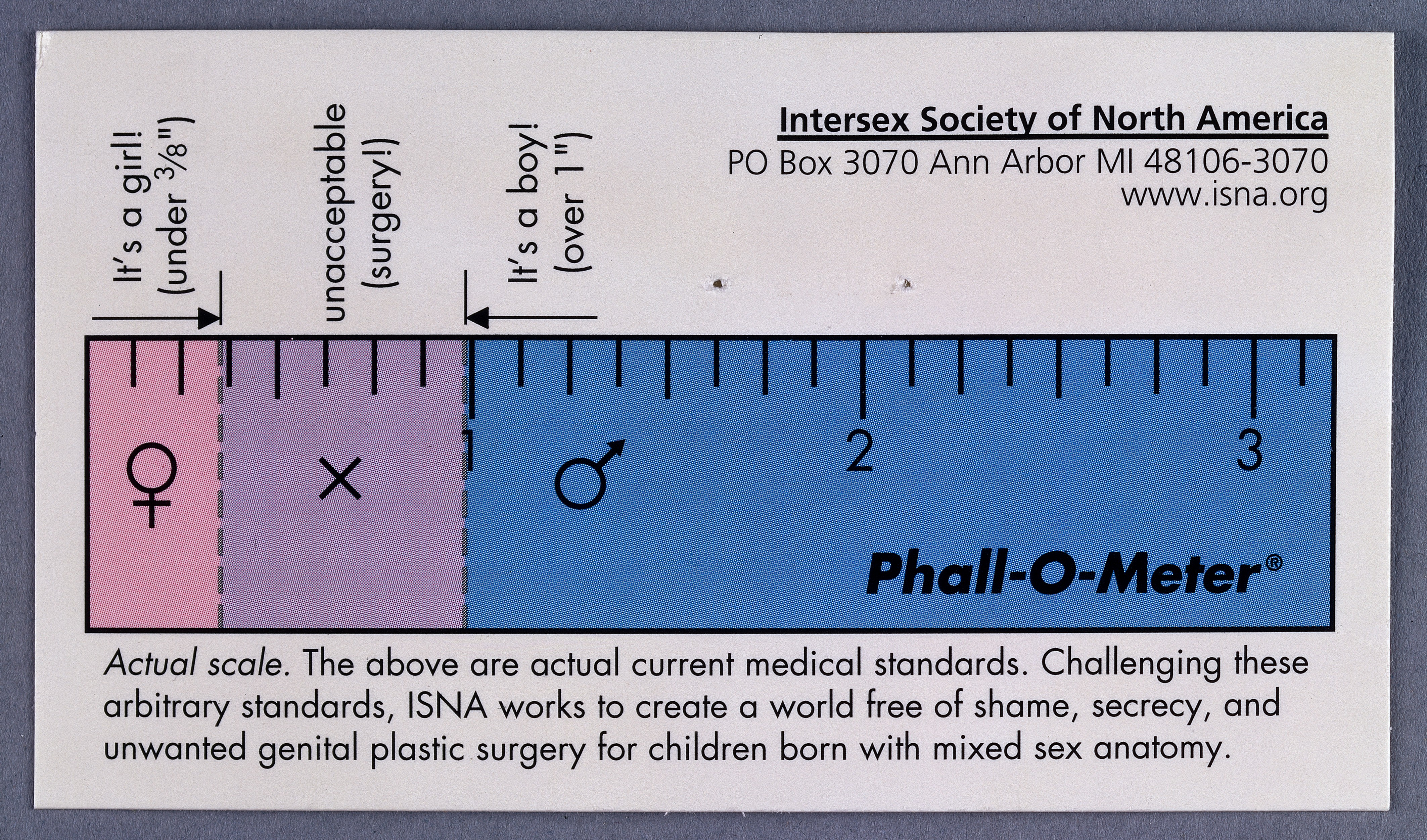 File:Phall-O-meter\', Intersex Society of North Wellcome L0031936.jpg ...