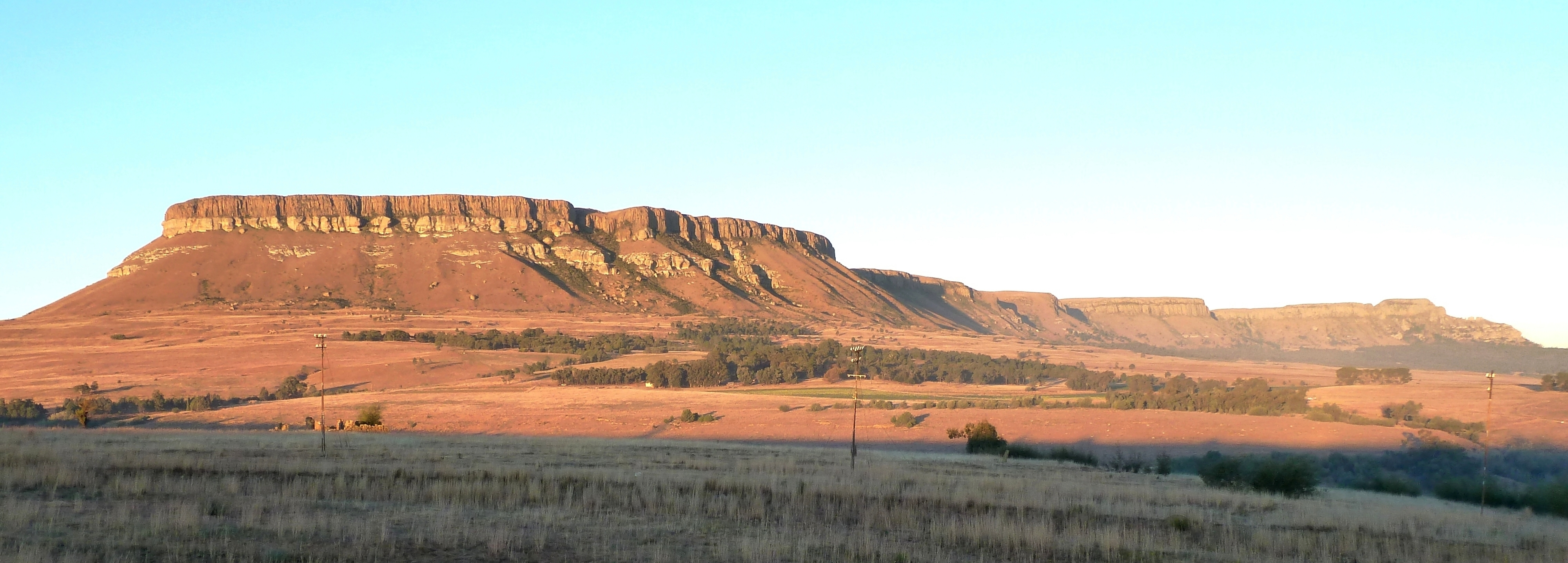 Harrismith South Africa  City pictures : Platberg, Harrismith, a Wikimedia Commons
