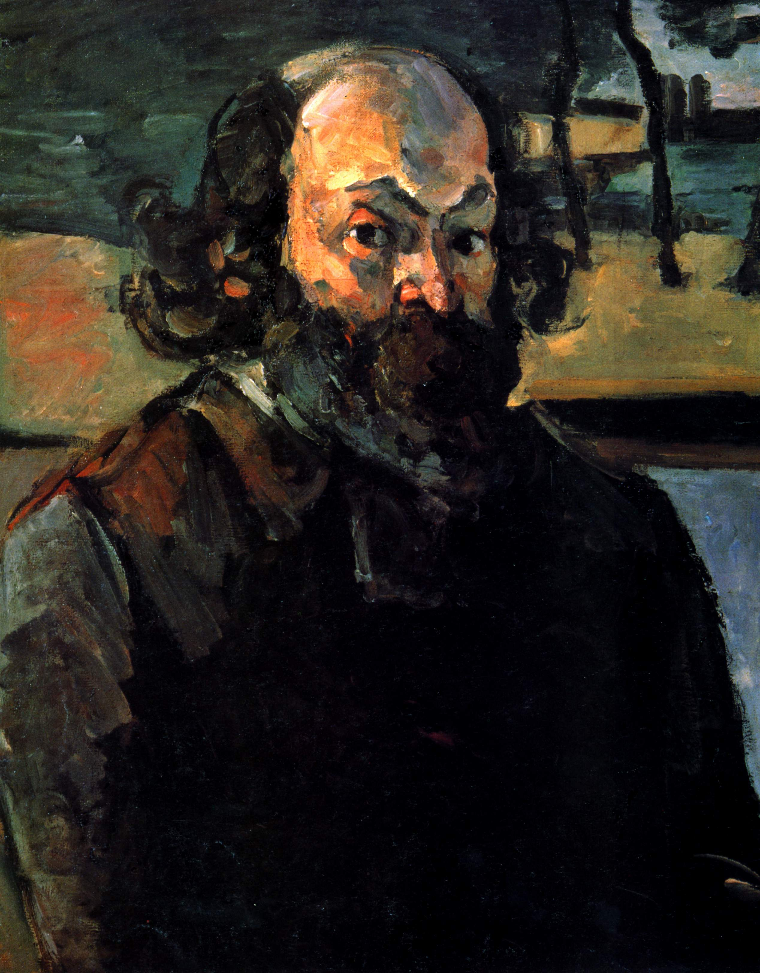 Portrait de l'artiste, par Paul Cézanne, FWN 434.jpg