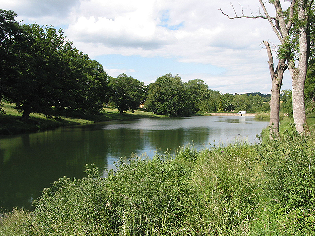 Reservoir, Cornbury Park - geograph.org.uk - 489521