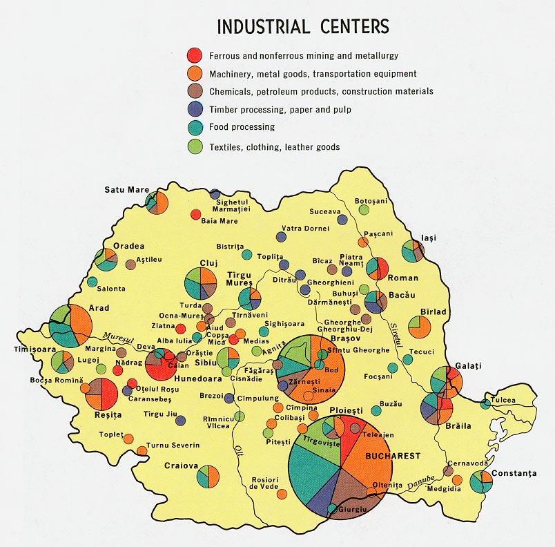 File romania industrial centers 1970 jpg wikimedia commons for Austrian cuisine history