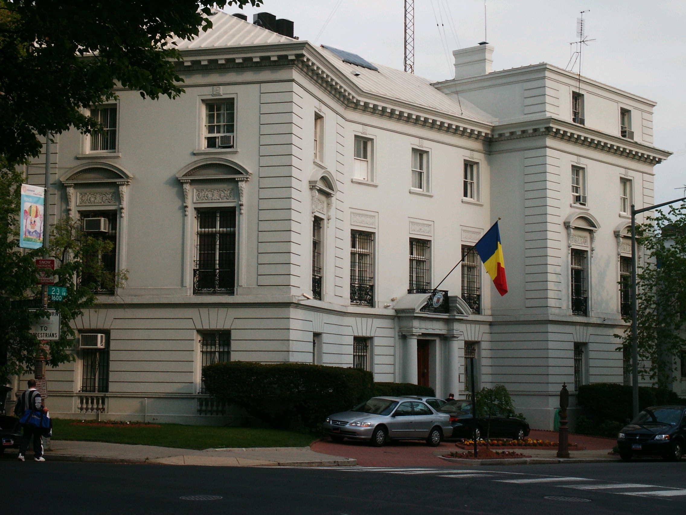 Embassy of Romania, Washington, D C  - Wikipedia