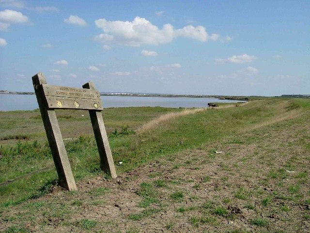 Saxon Shore Way - geograph.org.uk - 48174