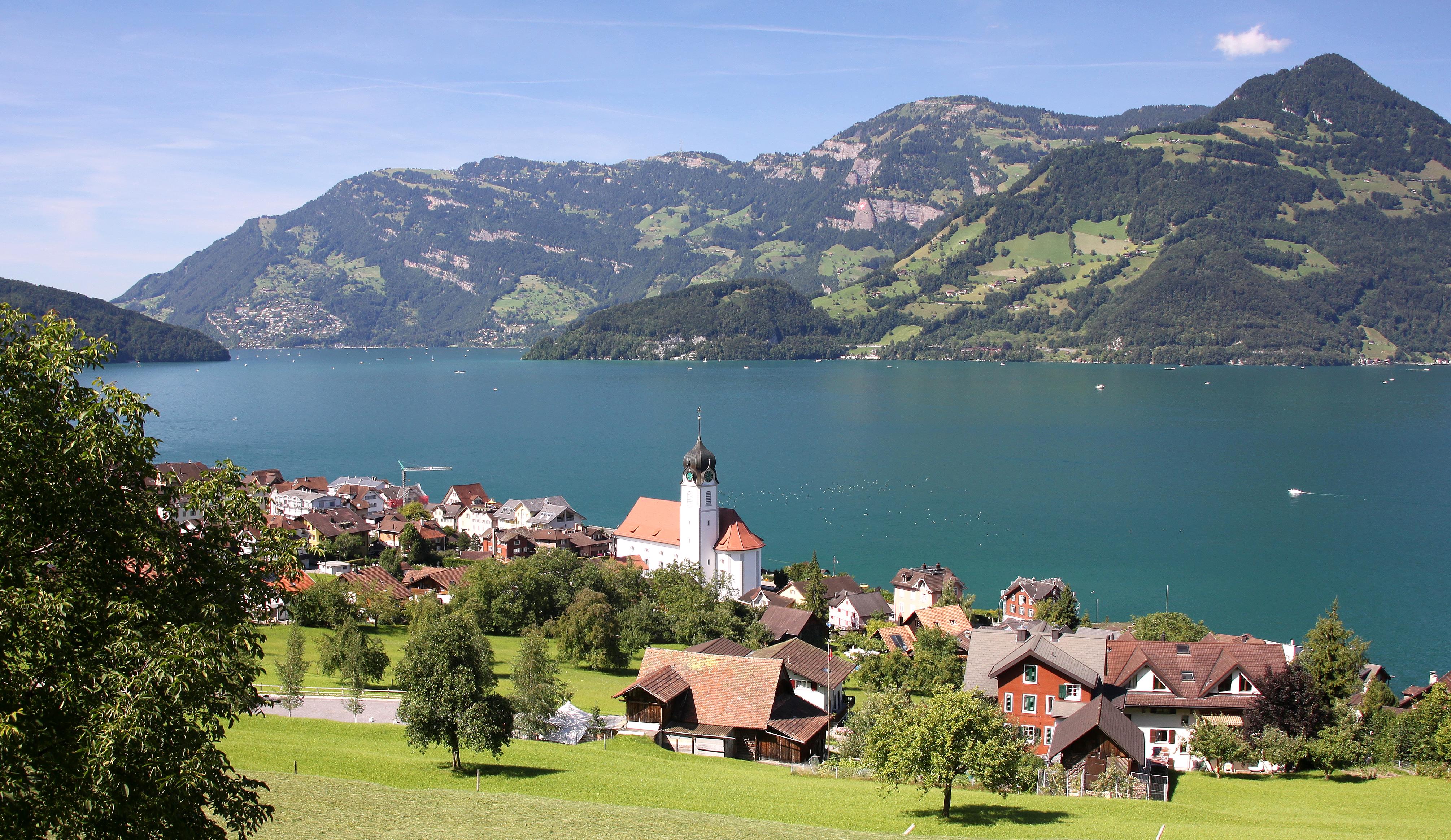 Beckenried Switzerland  city pictures gallery : Schweiz Vierwaldstättersee Beckenried 0236 Wikipedia ...