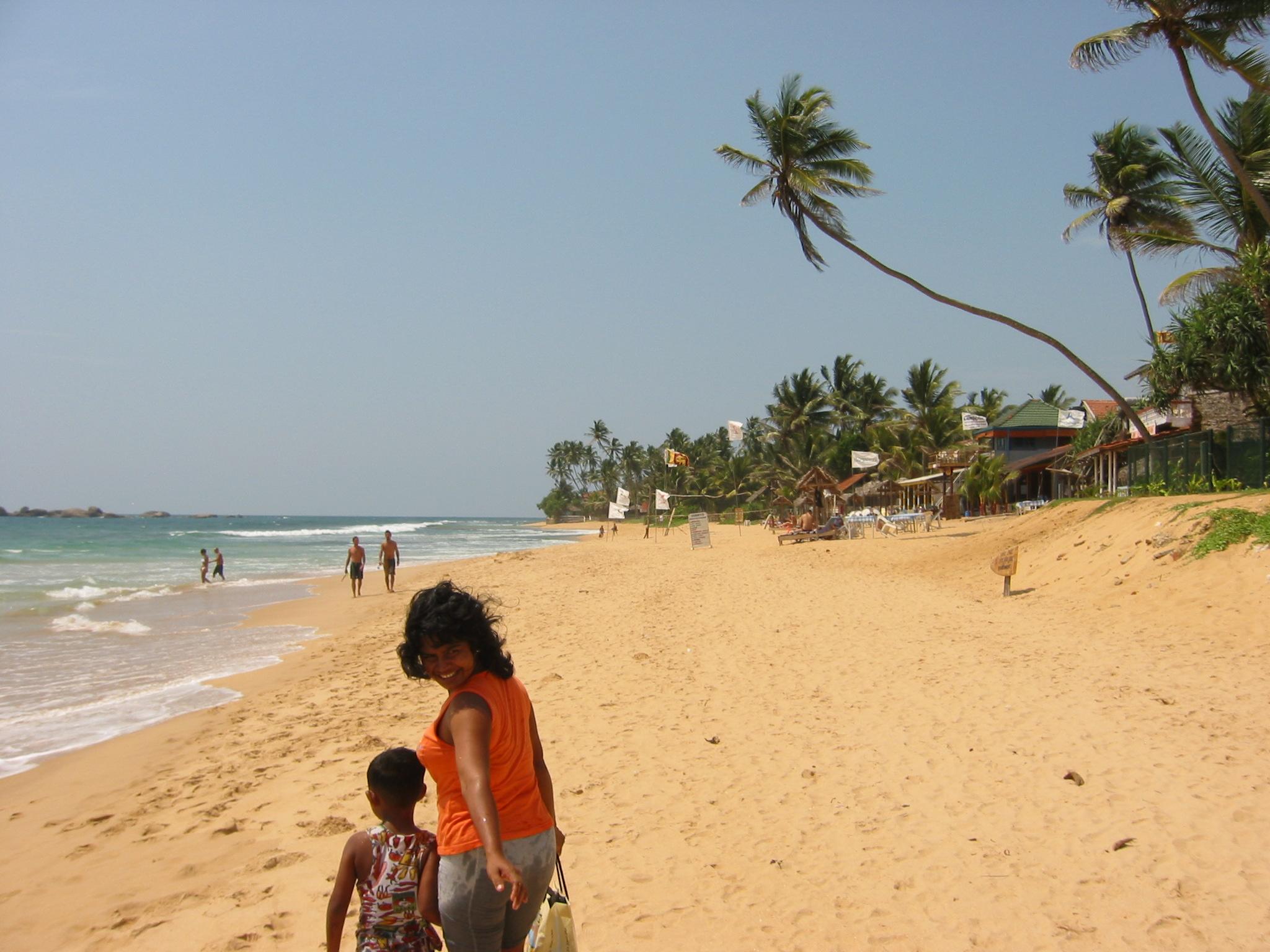 Hikkaduwa Sri Lanka  city photo : Description Strand Hikkaduwa Sri Lanka